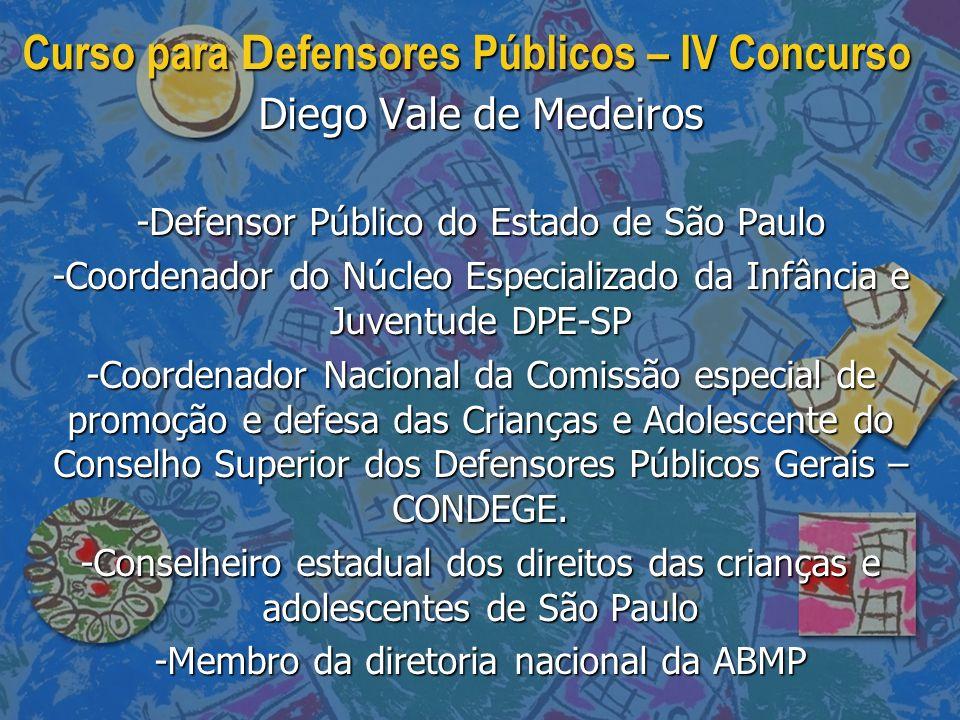 Curso para Defensores Públicos – IV Concurso