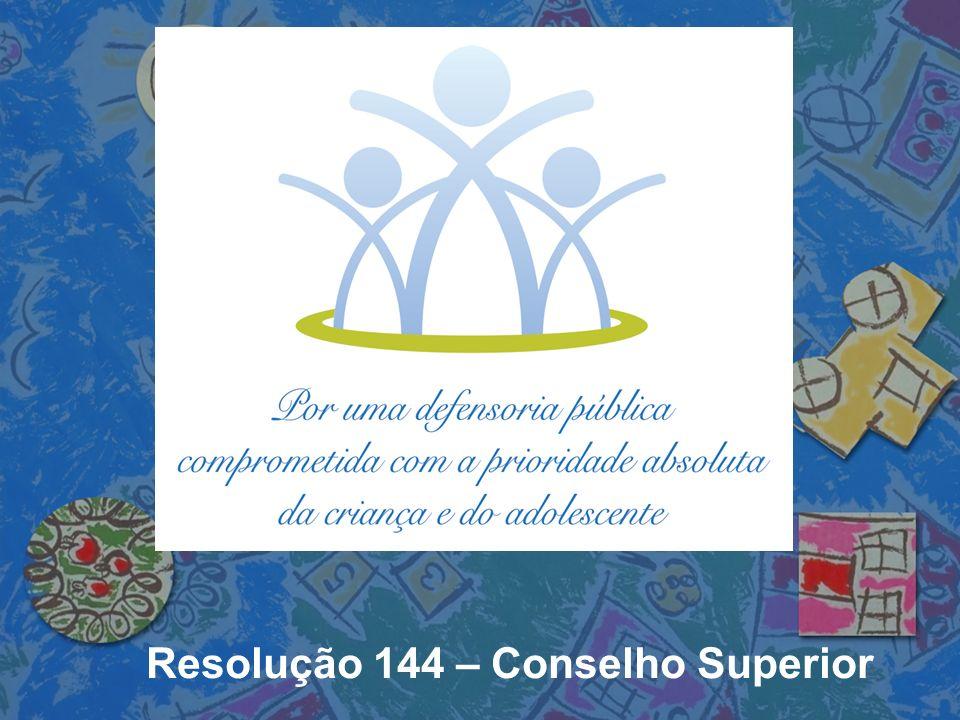Resolução 144 – Conselho Superior