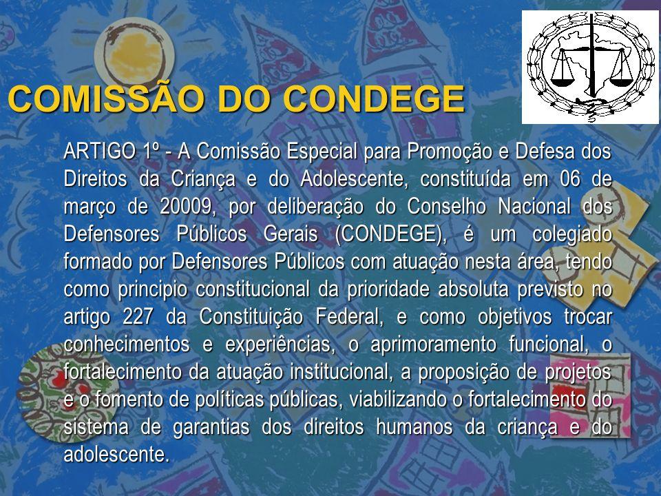 COMISSÃO DO CONDEGE
