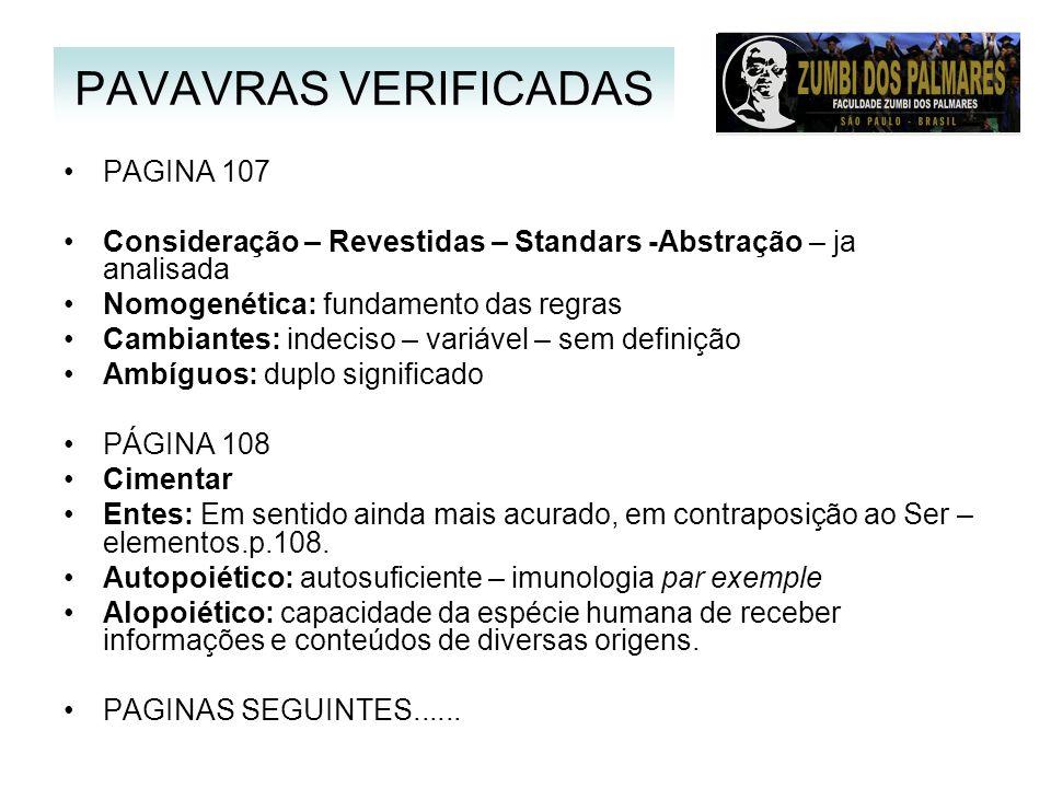 PAVAVRAS VERIFICADAS PAGINA 107