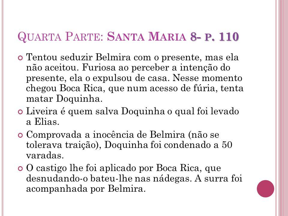 Quarta Parte: Santa Maria 8- p. 110