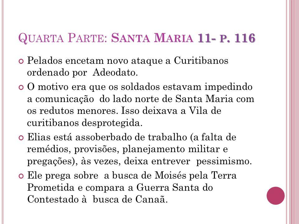Quarta Parte: Santa Maria 11- p. 116