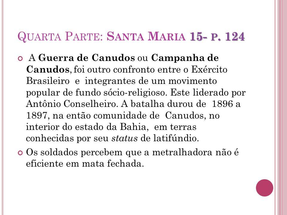 Quarta Parte: Santa Maria 15- p. 124