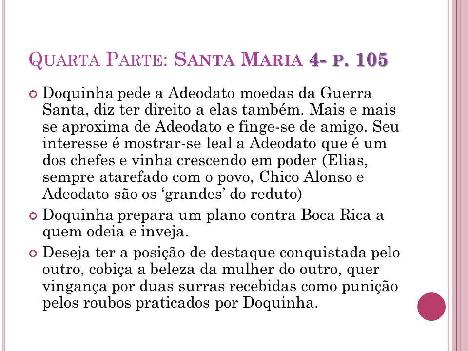 Quarta Parte: Santa Maria 4- p. 105