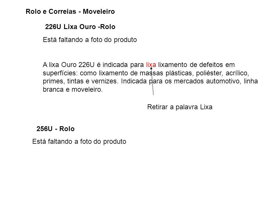 Rolo e Correias - Moveleiro