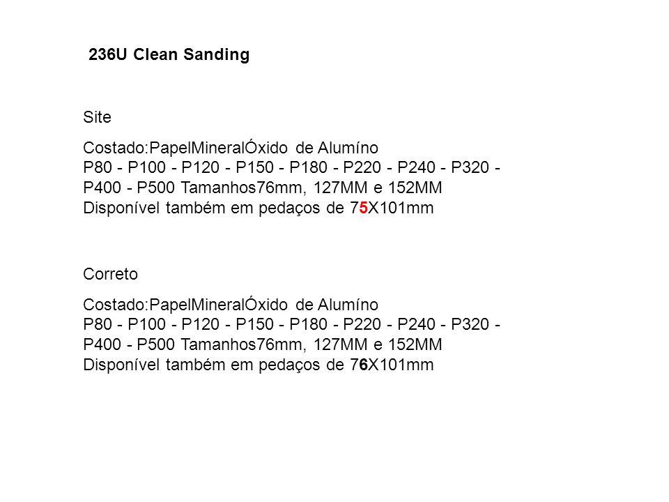 236U Clean Sanding Site.