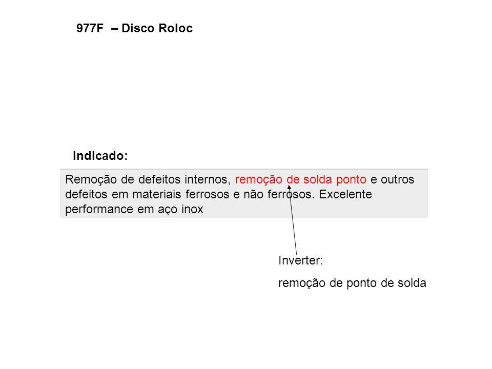 977F – Disco Roloc Indicado: