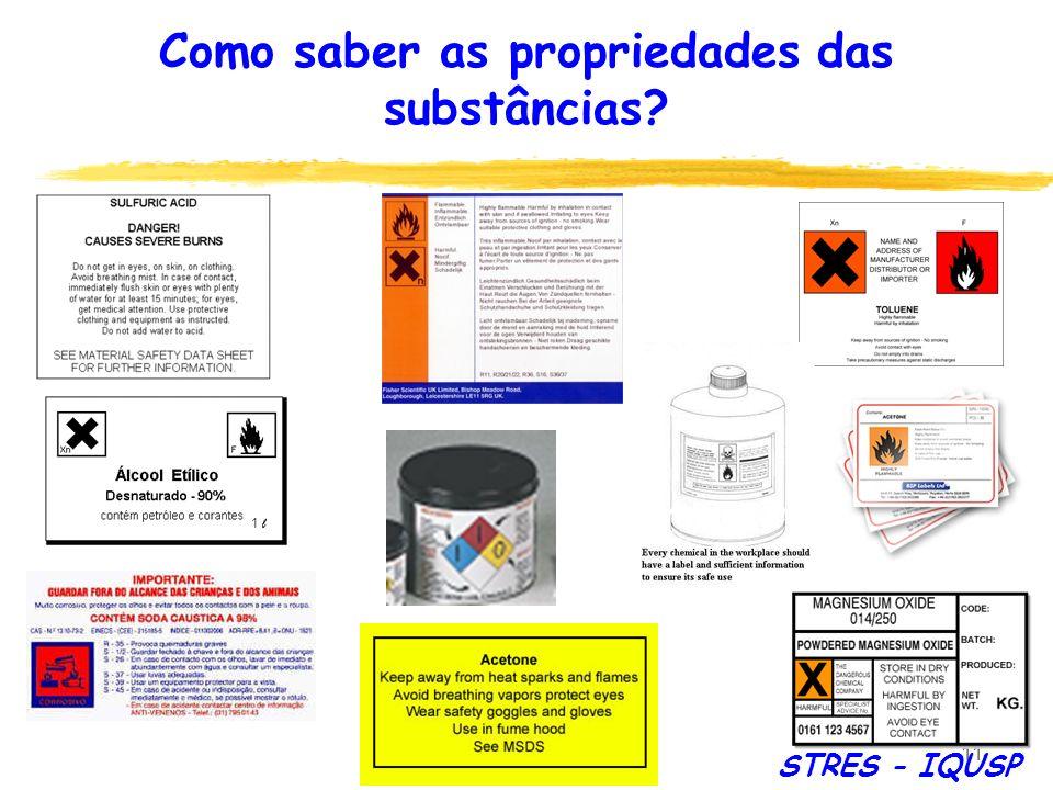 Como saber as propriedades das substâncias