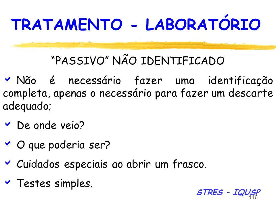 TRATAMENTO - LABORATÓRIO