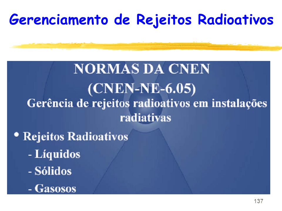 Gerenciamento de Rejeitos Radioativos