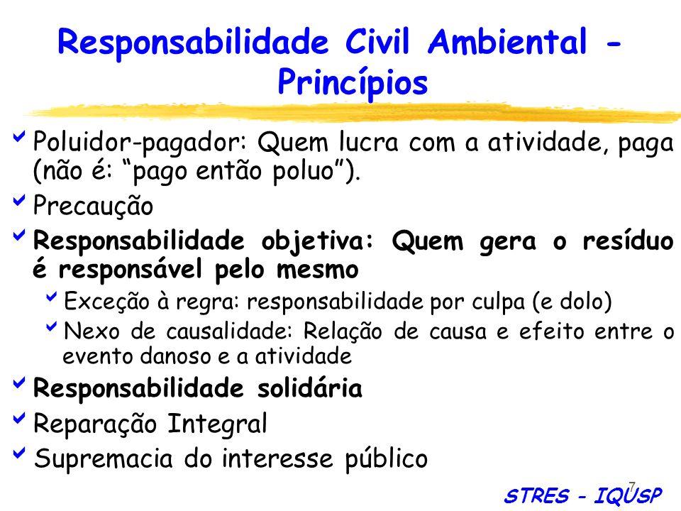 Responsabilidade Civil Ambiental - Princípios