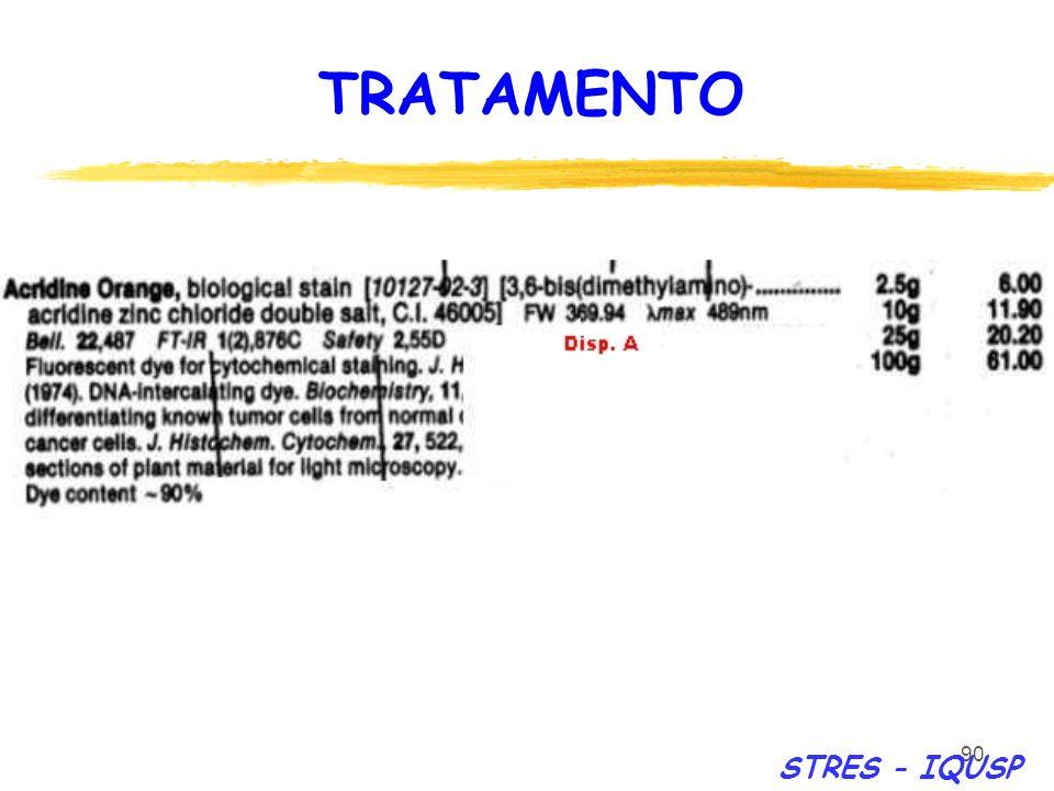 TRATAMENTO STRES - IQUSP