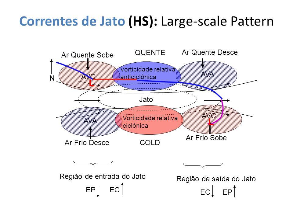 Correntes de Jato (HS): Large-scale Pattern