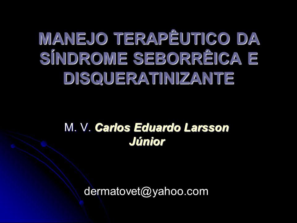MANEJO TERAPÊUTICO DA SÍNDROME SEBORRÊICA E DISQUERATINIZANTE