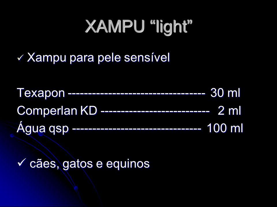 XAMPU light Xampu para pele sensível