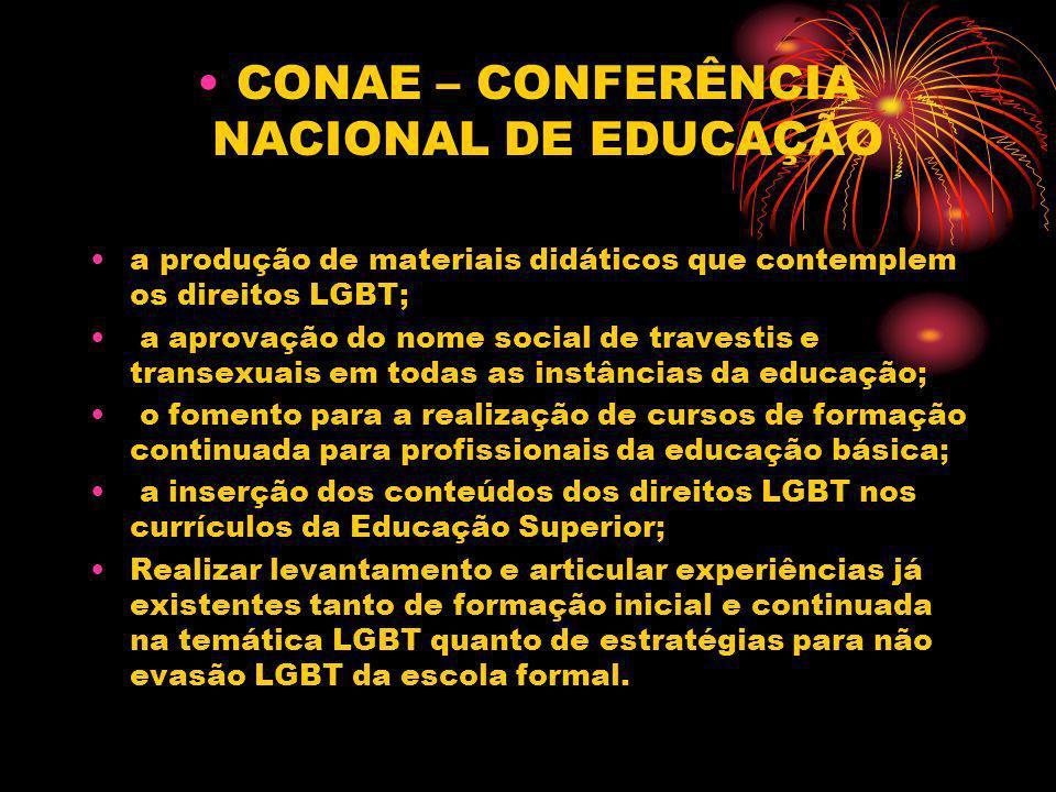 CONAE – CONFERÊNCIA NACIONAL DE EDUCAÇÃO
