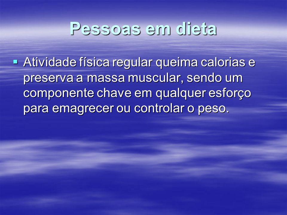 Pessoas em dieta