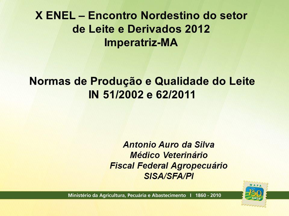 X ENEL – Encontro Nordestino do setor de Leite e Derivados 2012