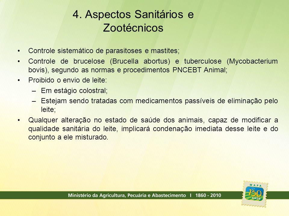 4. Aspectos Sanitários e Zootécnicos