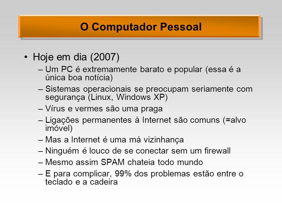 O Computador Pessoal Hoje em dia (2007)