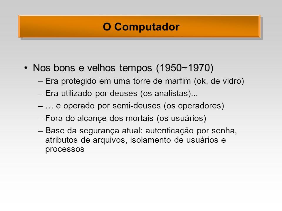 O Computador Nos bons e velhos tempos (1950~1970)