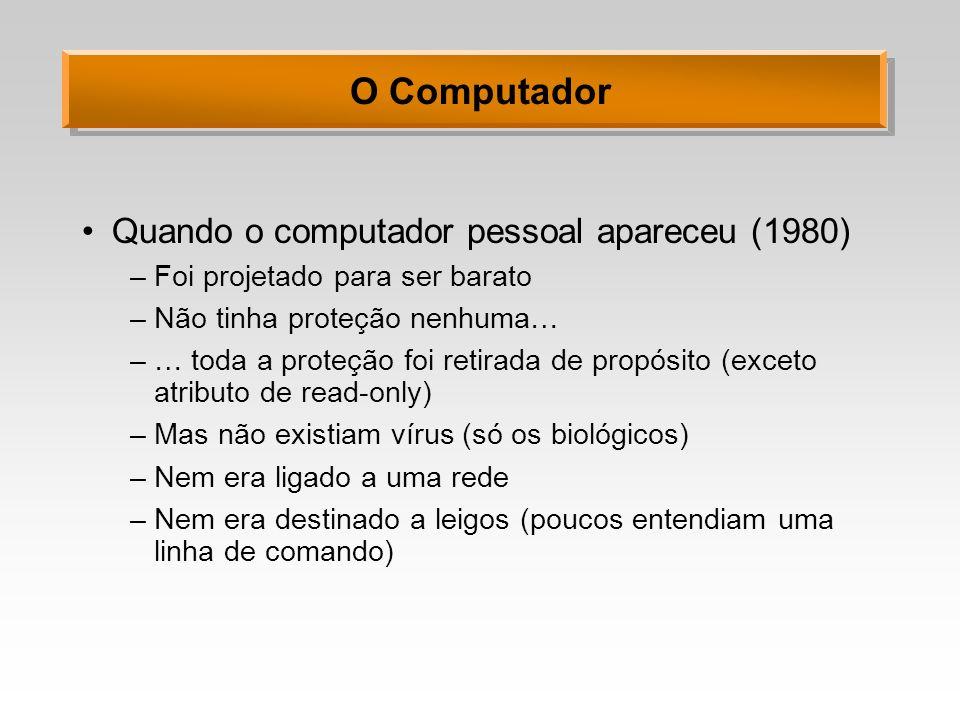 O Computador Quando o computador pessoal apareceu (1980)