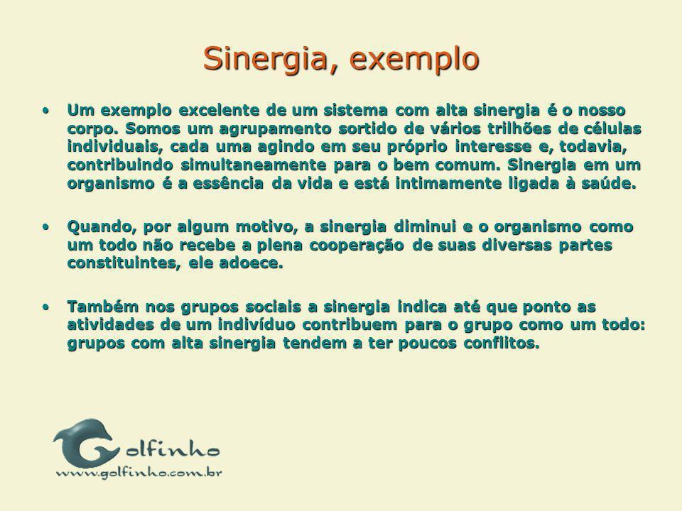 Sinergia, exemplo