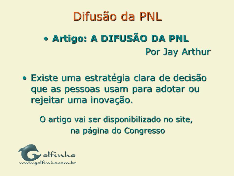 Artigo: A DIFUSÃO DA PNL
