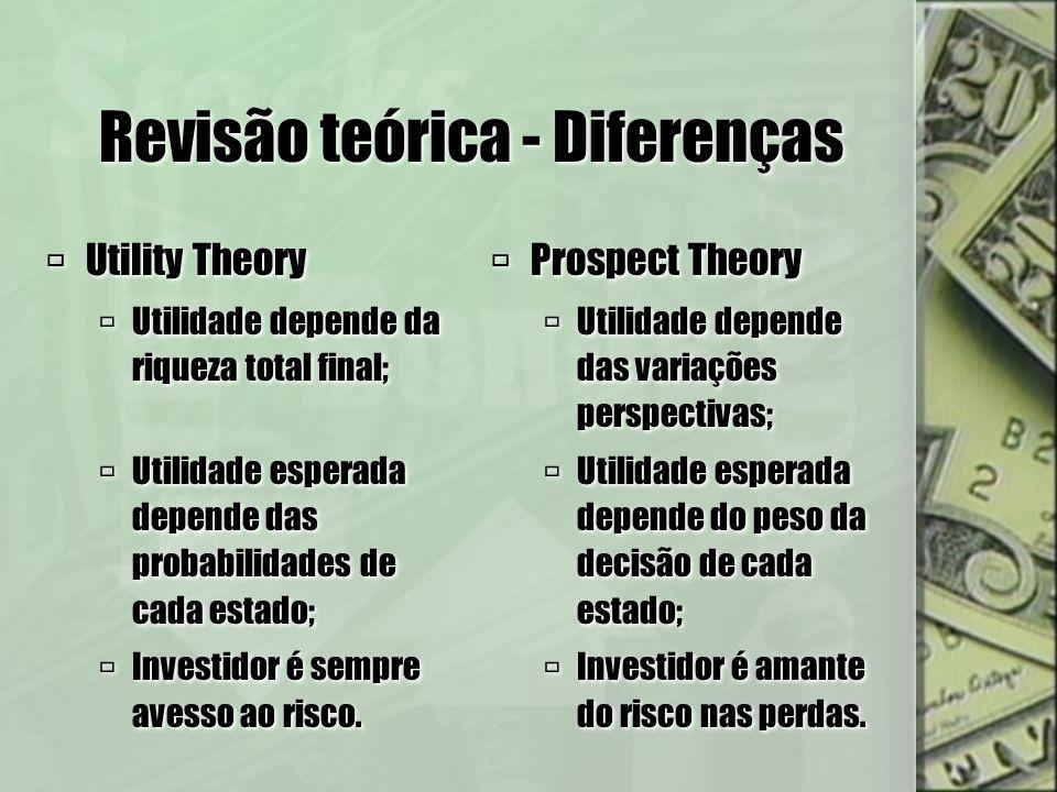 Revisão teórica - Diferenças