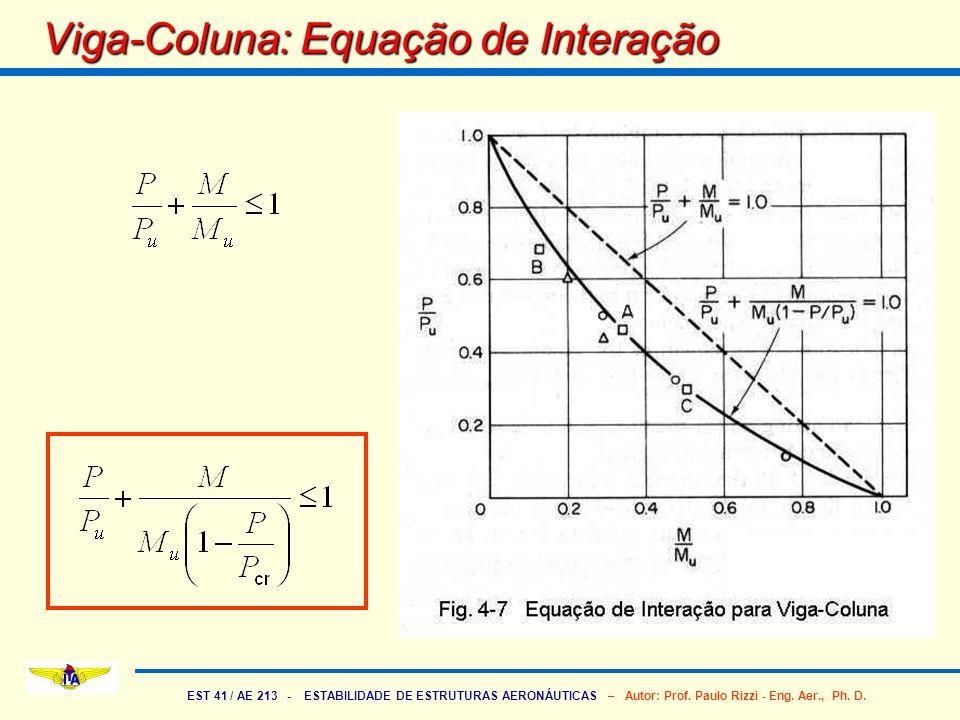 Viga-Coluna: Equação de Interação