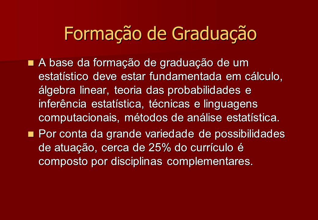 Formação de Graduação