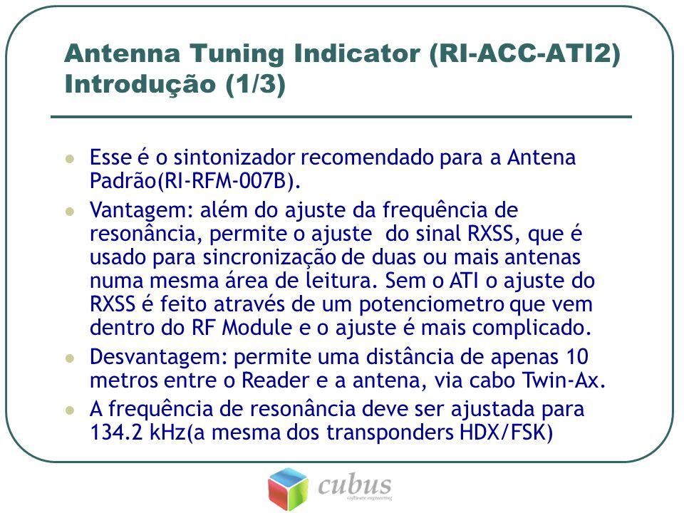 Antenna Tuning Indicator (RI-ACC-ATI2) Introdução (1/3)