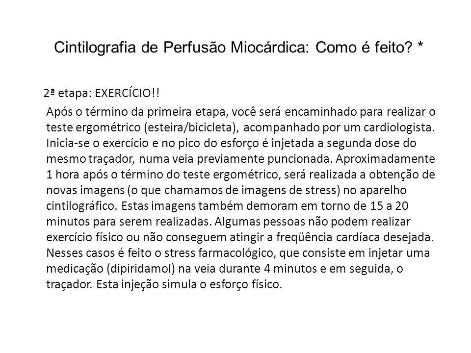 Cintilografia de Perfusão Miocárdica: Como é feito *