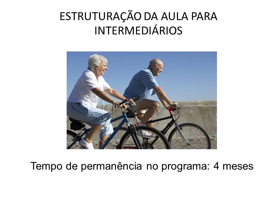 ESTRUTURAÇÃO DA AULA PARA INTERMEDIÁRIOS