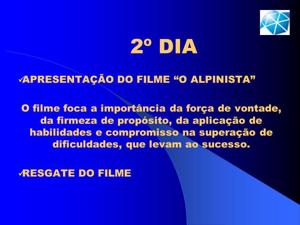 2º DIA APRESENTAÇÃO DO FILME O ALPINISTA