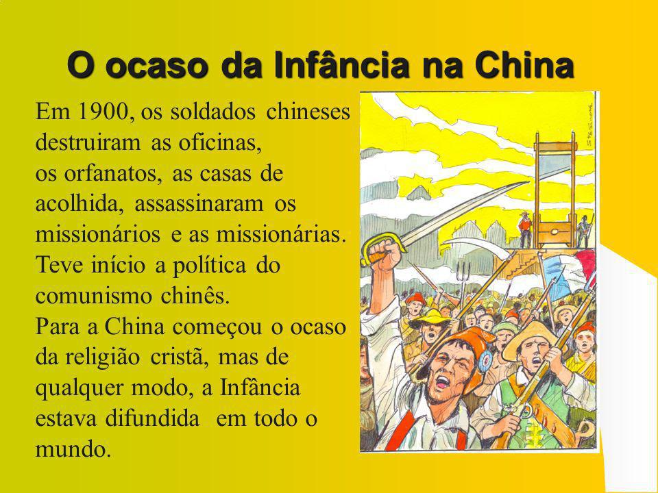 O ocaso da Infância na China