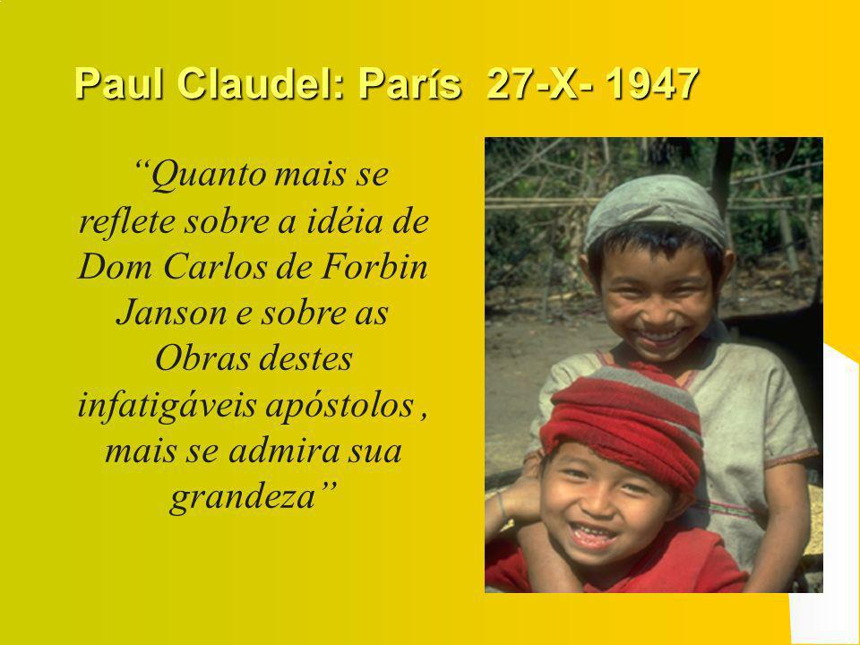 Paul Claudel: París 27-X- 1947