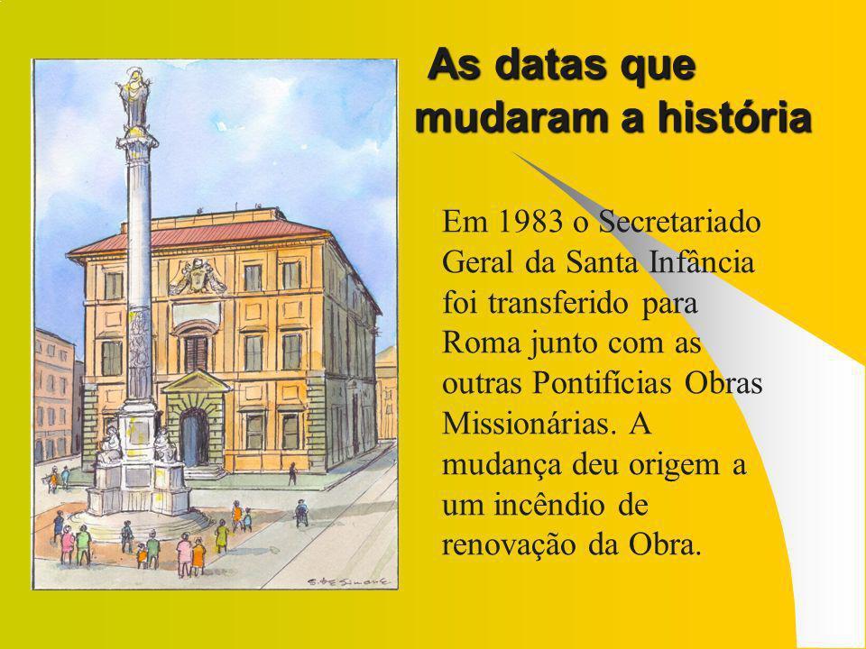 As datas que mudaram a história