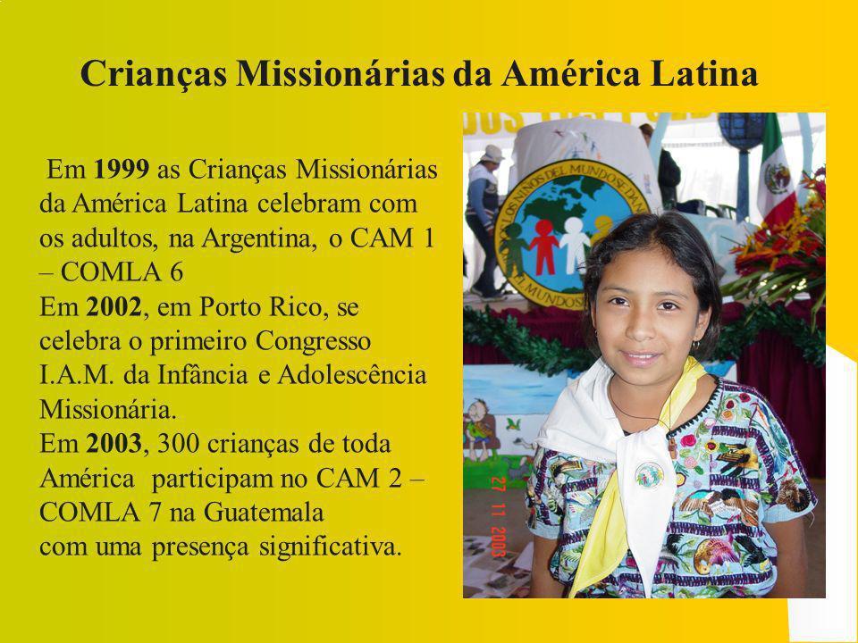 Crianças Missionárias da América Latina