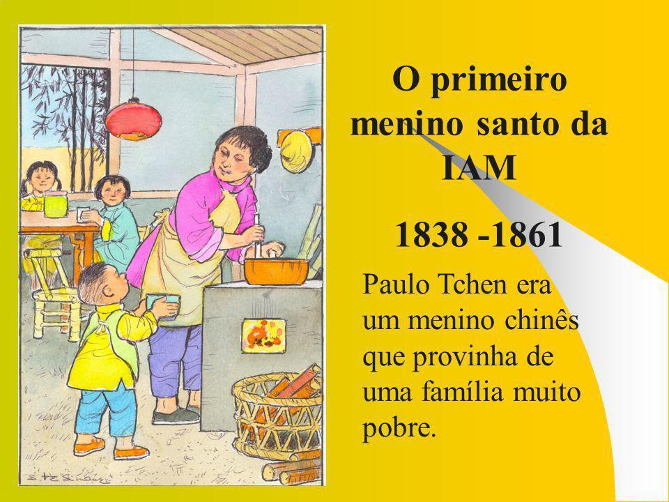 O primeiro menino santo da IAM