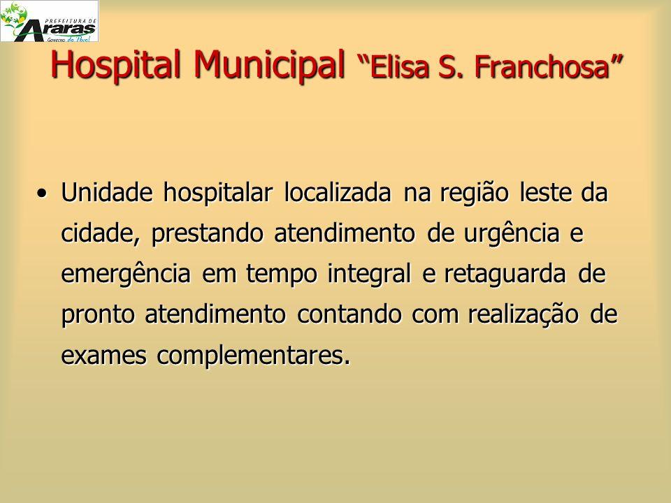 Hospital Municipal Elisa S. Franchosa