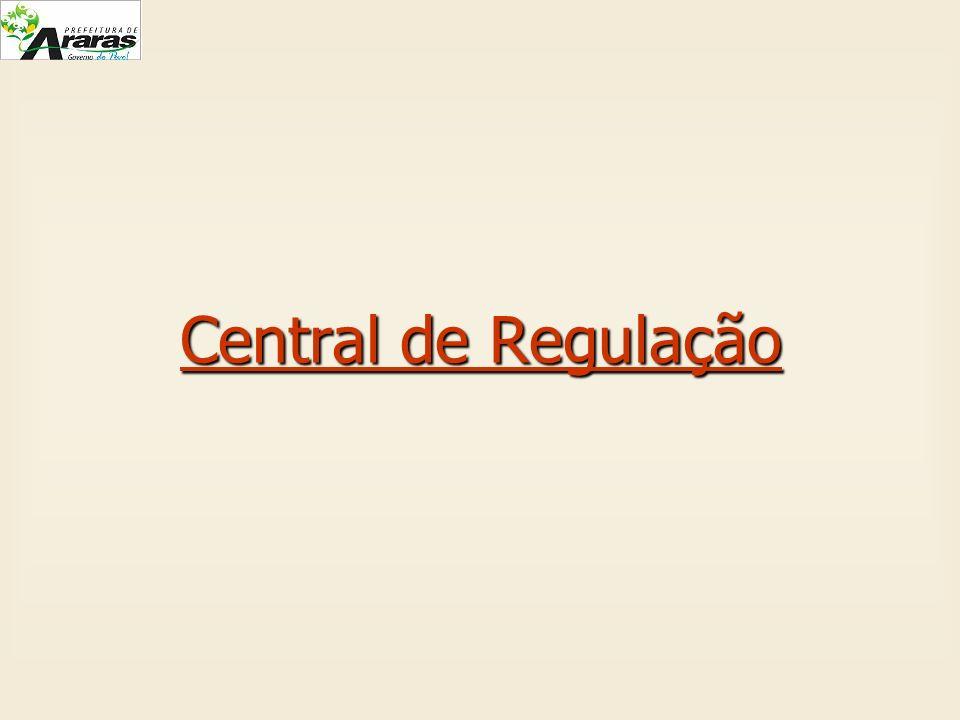 Central de Regulação