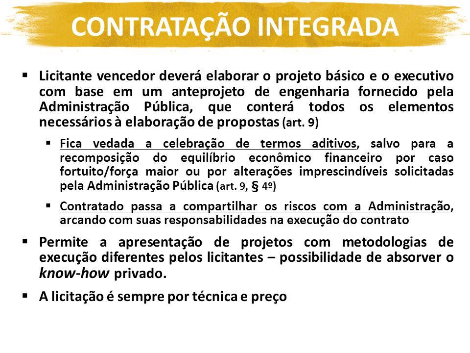CONTRATAÇÃO INTEGRADA