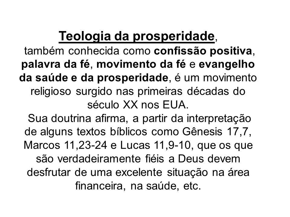 Teologia da prosperidade,
