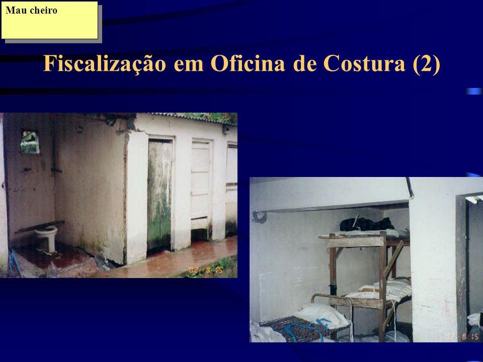 Fiscalização em Oficina de Costura (2)
