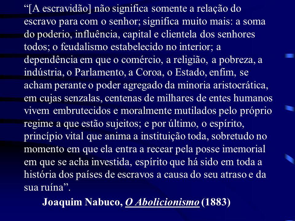 Joaquim Nabuco, O Abolicionismo (1883)