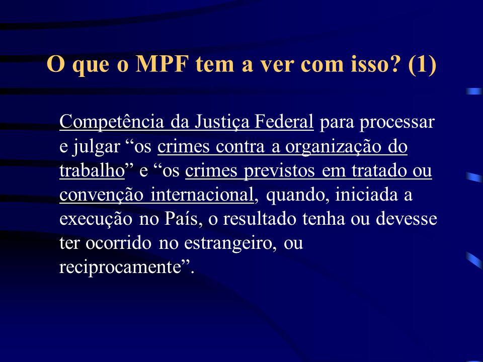 O que o MPF tem a ver com isso (1)