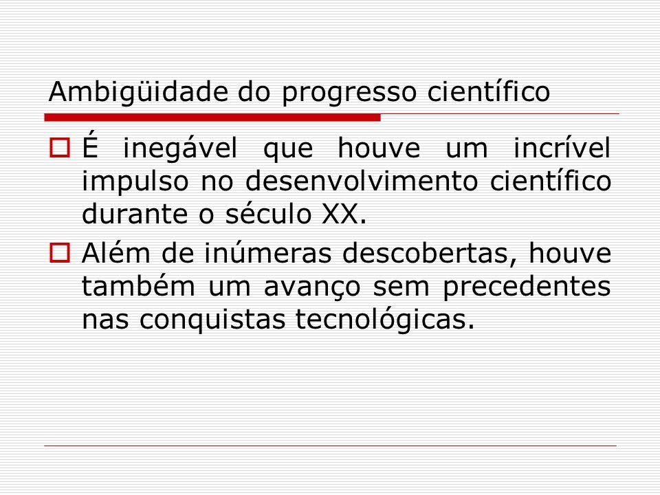 Ambigüidade do progresso científico