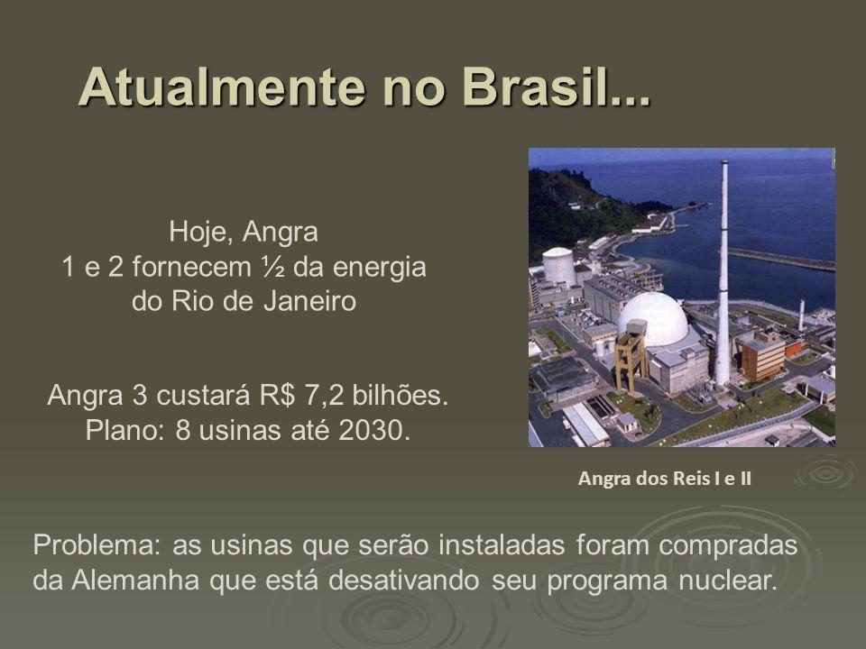 Angra 3 custará R$ 7,2 bilhões.