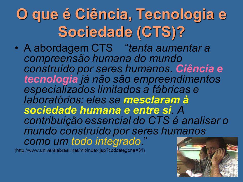 O que é Ciência, Tecnologia e Sociedade (CTS)